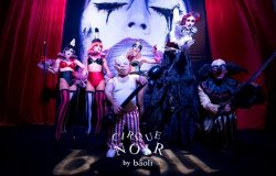 miami halloween 2017, cirque noir, halloween parties, party places in miami, miami party